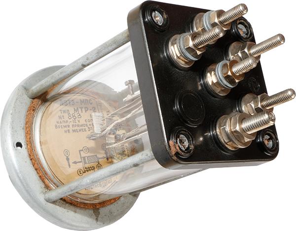 Маршрутно-термическое реле МТР-2 1956 г.в. производства Ленинградского электротехнического завода