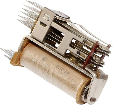 Реле РЭС-14 РС4.531.589 1992 г.в. производства Антрацитовского релейного завода