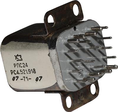 Переключатель дистанционный РПС-24 РС4.521.918 1971 г.в. производства завода Красная заря