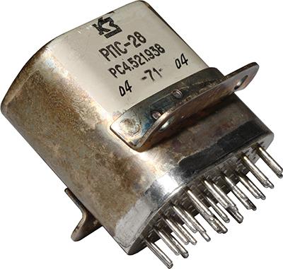 Переключатель дистанционный РПС-28 РС4.521.938 1971 г.в. производства завода Красная заря