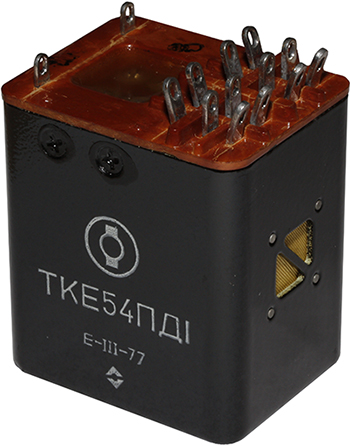 Реле ТКЕ54ПД1 1977 г.в. производства Кирово-Чепецкого электромашиностроительного завода