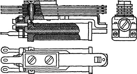 Рисунок 1. Чертёж малогабаритного реле Цыпкина МРЦ-1