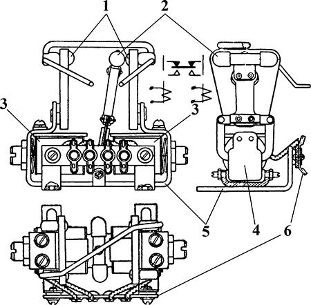 Рисунок 1. Чертеж высоковольтного реле 9988.501 (РАД)