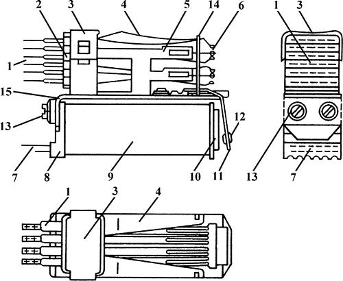 Рисунок 1. Телефонное реле РЭС-14