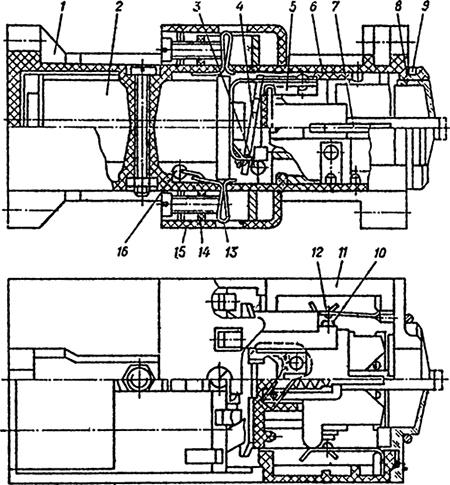 Рисунок 1. Устройство реле РЭУ-11