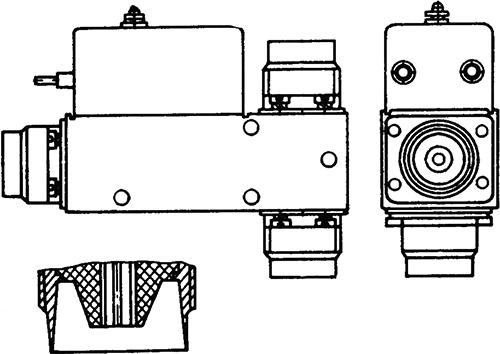Рисунок 1. Общий вид высокочастотного реле РЭВ-15