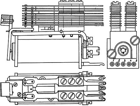 Рисунок 1. Общий вид реле типа РКМП.