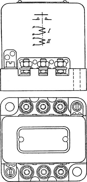 Чертеж и схема реле РМШ-2А