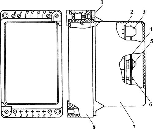 Рисунок 1. Чертеж электронного реле времени РВ-130