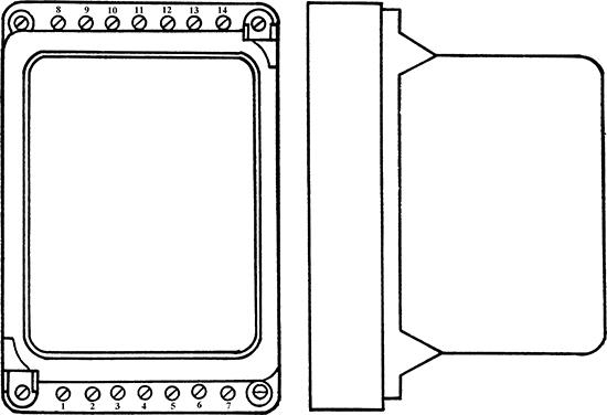 Рисунок 1. Общий вид статического реле времени РВ-150