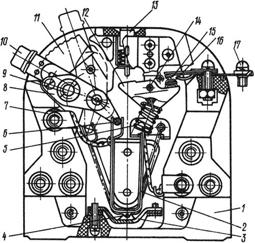 Рисунок 1. Общий вид электротеплового реле серии ТРТ