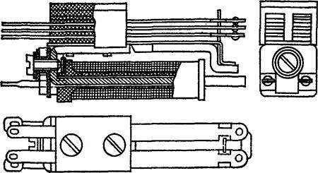 Рисунок 2. Чертёж малогабаритного реле Цыпкина МРЦ-2