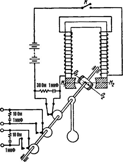 Рисунок 2. Кинематическая схема маятникового трансмиттера МТ-1