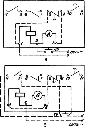 Рисунок 2. Пример использования реле в схеме
