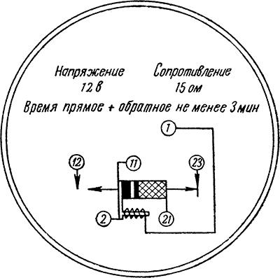 Рисунок 3. Схема расположения выводов маршрутного термического реле МТР-2