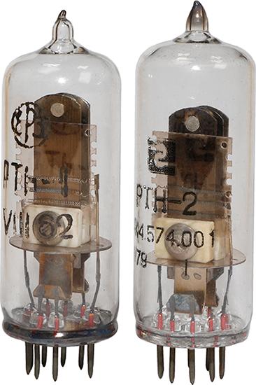 Электротепловые реле времени РТН-1 1962 г.в. и РТН-2 РХ4.457.001 1979 г.в. производства Ереванского релейного завода