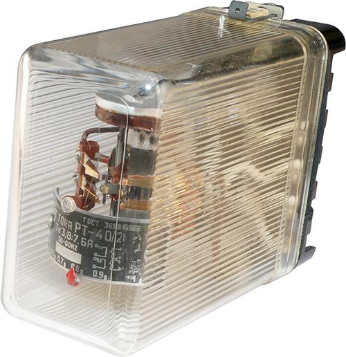 Реле максимального тока РТ-40/2 1967 г.в. производства Чебоксарского электроаппаратного завода