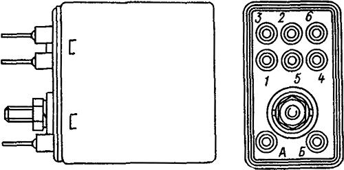 Рисунок 1. Общий вид и расположение выводов слаботочного реле РЭС-37
