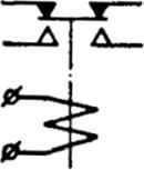 Рисунок 2. Электрическая схема электромагнитного реле Р2-С36