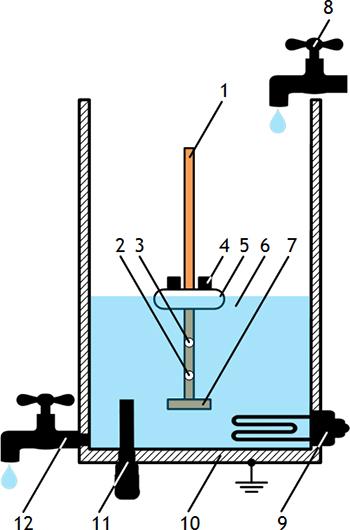 Рисунок 4. Схема водонагревателя