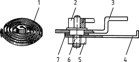 Рисунок 5. Регулировочный узел реле максимального тока РТ-40