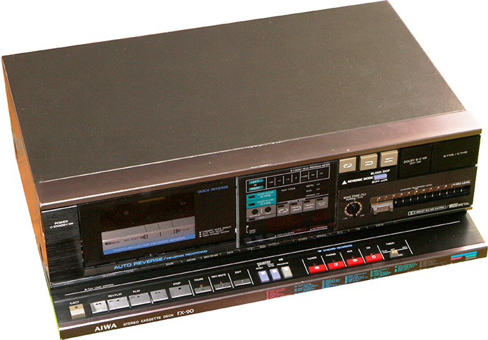 Магнитофон-приставка AIWA FX-90Н 1994 г.в.