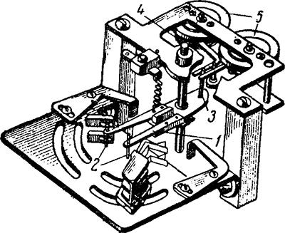Рисунок 5. Устройство контактам системы реле направления мощности РБМ-271, РБМ-277 и РБМ-278